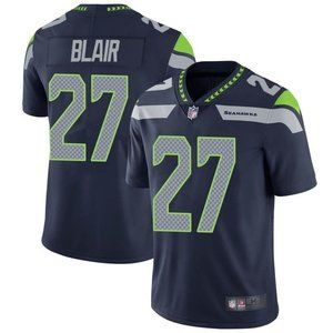 Seahawks Marquise Blair Navy Jersey
